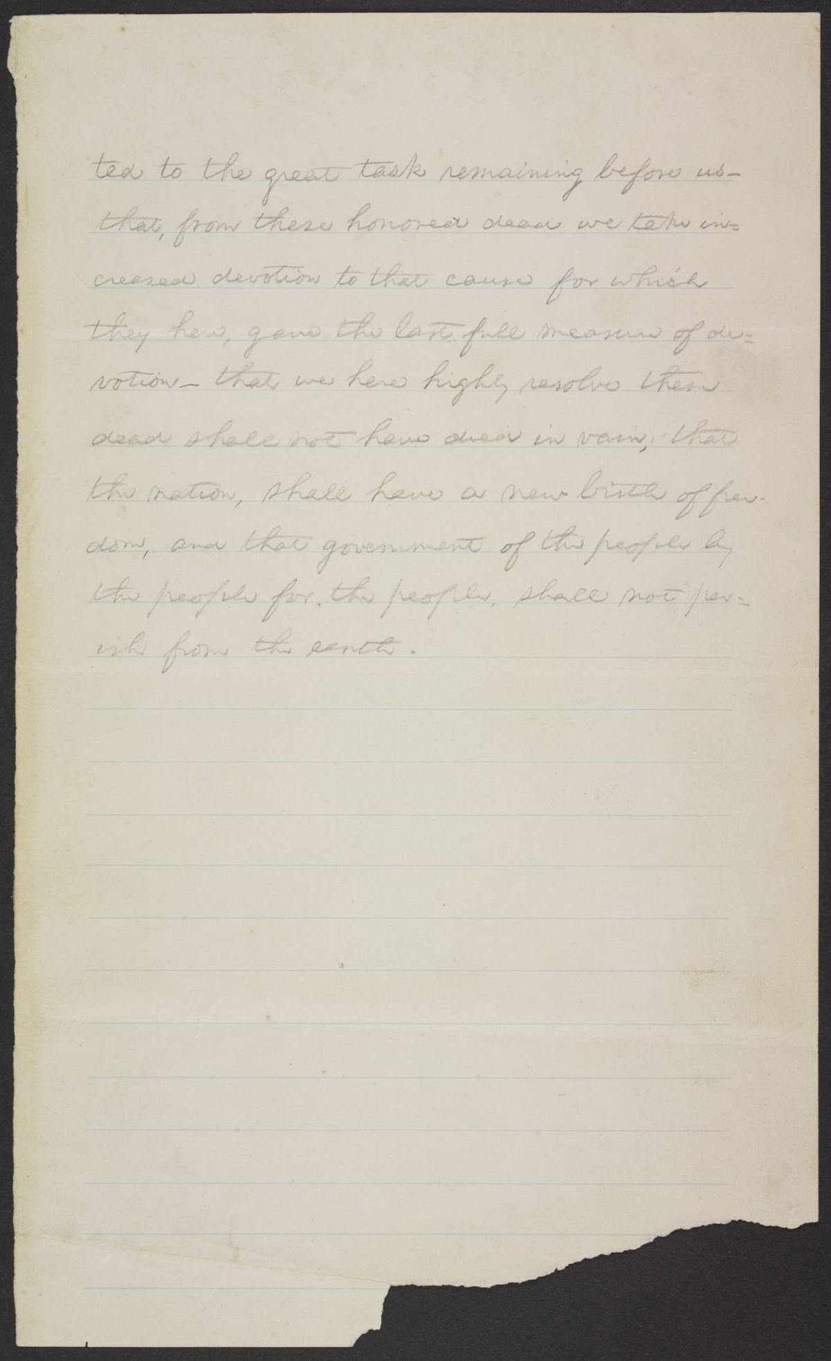 Gettysburg Address Pt 2