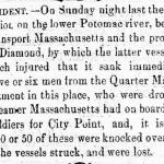 Image of newspaper article, <i>Alexandria Gazette</i>, April 26, 1865