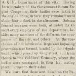 Image of newspaper article, <i>Virginia State Journal</i>, May 11, 1865