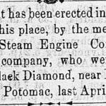 Image of newspaper article, <i>Alexandria Gazette</i>, November 11, 1865